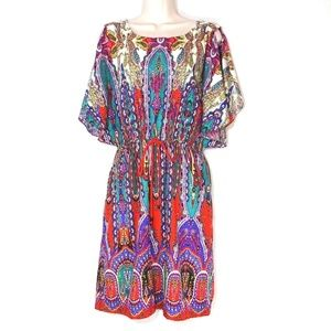 Beige by Eci Dress with Pockets Women Size 6